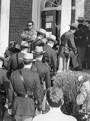 State troopers occupy Bowie State College: 1968 (washington_area_spark) Tags: plant black college campus bowie student state african rally poor protest maryland demonstration american but 1968 arrest physical equal conditions separate sitin occupy historically unequal studyin