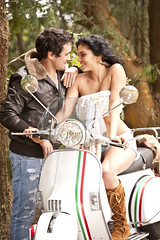 young attractive couple sitting together with scooter (Stockholm Fashion Photography) Tags: travel trees portrait people woman white man sexy male green love boyfriend beautiful beauty smiling fashion bike female youth forest laughing southafrica fun outdoors happy togetherness girlfriend couple sitting adult affection transport young relaxing lifestyle happiness scooter romance lovers sensual human jacket dating attractive romantic casual dirtroad brunette closeness leaning isolated caucasian