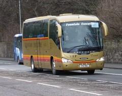 FXI 782 (Cammies Transport Photography) Tags: road england bus fountain scotland coach edinburgh rugby v executive scania specials corstorphine irizar 782 fxi fxi782