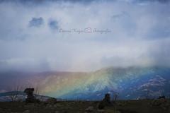 Manta de iris (Lorena Hoyos Fotografa) Tags: arcoiris paisaje montaa