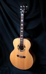 Custom Handmade Jumbo Acoustic Guitar (elijahjewelguitars) Tags: music guitar handmade guitars acoustic custom jumbo musicinstrument acousticguitar stringedinstrument acousticguitars jumboguitar jumboguitars customhandmadejumboacousticguitar