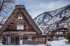 Shirakawa-go (Thomo13) Tags: world winter snow alps cold heritage japan site hit village historic minami takayama nagano shirakawa