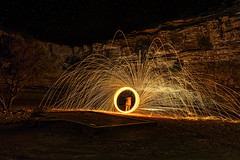 Steel Wool (Wajahat Mahmood) Tags: longexposure lightpainting night stars middleeast saudiarabia steelwool المملكةالعربيةالسعودية حريملاء nikond810 googlenik huraiymila