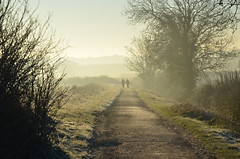 Cotswold Way (sgreen757) Tags: morning winter sunrise way nikon south gloucestershire glos upton hawkesbury cotswold d7000