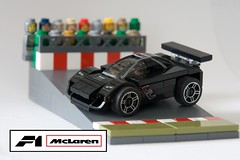 McLaren F1 (ted @ndes) Tags: scale car automobile lego f1 mclaren micro sportscar lugnuts