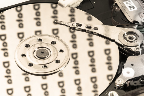 Data on Hard Disk