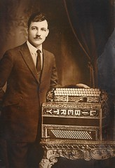My grandfather owner of the International Accordion & Concertina Company (Cragin Spring) Tags: city family wickerpark chicago vintage liberty photo illinois midwest grandfather chitown polish accordion grandpa il musical instrument northside concertina chicagoillinois chicagoil windycity milwaukeeave internationalaccordion