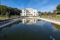 villa torlonia - casino nobile (killer joe) Tags: italy roma fountain architecture garden bluesky lazio villatorlonia