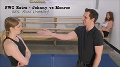 FWC Extra - Johnny Ringo vs Monroe Jamison - REAL Mixed Wrestling! (femalewrestlingchannel) Tags: wrestling womenwrestling femalewrestling headscissors mixedwrestling bodyscissors legscissors mixedgrappling realmixedwrestling competitivemixedwrestling
