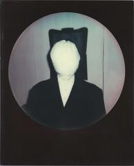 /o\ (lengvari) Tags: portrait black film project polaroid 600 frame round impossible impulse