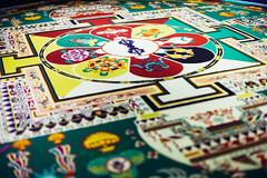 In Lhasa (Elmar Bajora Photography) Tags: china people art heritage museum ancient asia asien buddhist buddhism mandala tibet tibetan remote himalaya centralasia lhasa topoftheworld tar lasa hochland hochebene tibetplateau tibetanmuseum   culturalgebirge autonomeregiontibet tibetanautonomusregion