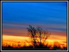 Oklahoma Sunrise (Snapshots by JD) Tags: sky orange oklahoma sunrise