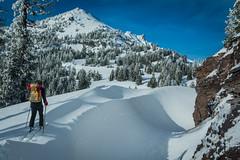 Crater Lake Ski Circumnavigation (gabriel amadeus) Tags: camping winter mountain lake snow ski oregon volcano skiing alpine crater backcountry craterlake touring mazama klamath southernoregon
