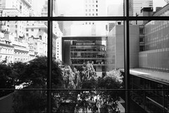 Framed (karstenphoto) Tags: new york city nyc newyorkcity film analog 35mm kodak trix moma ishootfilm museumofmodernart g2 thebigapple filmisnotdead kodaklives momawindow