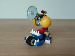 LEGO MIXELS TIKETZ TRUMPSY MIX Instructions Lego 41556 Lego 41562 Mixels Series 7 (Totobricks) Tags: make mix lego howto instructions build series7 mixies 2016 mcpd mixels legomixels totobricks trumpsy lego41562 tiketz lego41556