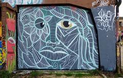 Graffiti Le Gabut, La Rochelle (thierry llansades) Tags: street streetart art wall painting graffiti graf peinture painter piazza graff larochelle aerosol mur charente peintures graffitis graffs graphisme grafs charentesmaritime charentes charentemaritime frenchgraff