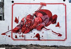 Seher & Smithe (cmdpirx) Tags: street urban color colour art public up wall mexico graffiti nikon mural paint artist space raum character kunst hamburg can spray crew hh piece farbe bombing throw smithe dose fatcap viertel kru seher ryc gaenge d7100 oeffentlicher gaengeviertel