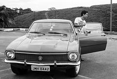 Ford Maverick (Trcio Campelo) Tags: blackandwhite bw ford film analog 35mm vintagecar ilfordhp5 electro hp5 analogue ilford yashica bnw maverick filmphotography fordmaverick filmisnotdead yashicaelectro35gt buyfilmnotmegapixels