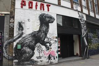 Roa + Phlegm_1141 Rivington street Londres