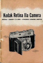 Kodak Retina IIa Camera - Intro 1 (TempusVolat) Tags: camera vintage print graphic kodak pages instructions guide manual printed gareth retina tempus kodakretina iia retinaiia volat wonfor mrmorodo garethwonfor tempusvolat