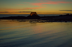 20150809-116_Bay Colours at Sunset (gary.hadden) Tags: sunset seascape landscape evening fort silhouettes saintmalo stmalo