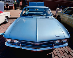 Chevrolet Corvair (hz536n/George Thomas) Tags: summer chevrolet michigan august chevy canon5d flint corvair ef1740mmf4lusm 2013 cs5 backtothebricks