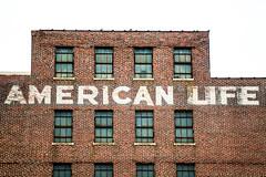 American Life (Thomas Hawk) Tags: usa abandoned america birmingham unitedstates unitedstatesofamerica alabama americanlife americanlifebuilding