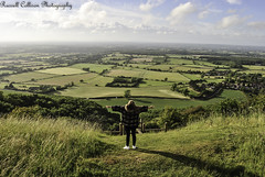 On Top Of The World-2 (russellcollisonphotography) Tags: portrait nature clouds landscape sussex devilsdyke originalphotography southdownsnationalpark