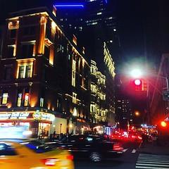 nyc #lights #🚦 #🌃 #midtown #manhattan... (Dcoi) Tags: nyc newyorkcity winter ny newyork blur night dark lights cityscape manhattan midtown newyorknewyork coolpics taxicabs midtownmanhattan citypics cityphoto nycpics nyclights uploaded:by=flickstagram instagram:venuename=manhattan2cnewyork instagram:venue=20188833 instagram:photo=11910207614311820721463278617
