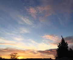 Its Monday (karine_avec_1_k) Tags: morning winter cloud sun cold sunrise soleil hiver nuage froid matin