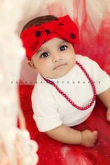 Baby Tahura <3 (Zaina.Faraola) Tags: red baby love kids canon photoshoot frock tutu photograhy tahura 60d