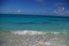 Caribbean Sea from Grace Bay
