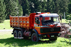 MERCEDES 2635 (marvin 345) Tags: italy truck mercedes italia camion trucks trentino mercedestruck autocarro valdisole germantruck mercedes2635 movimentoterra trucksentrentin