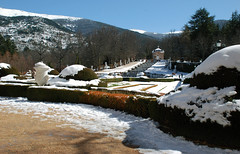 Cascada Nueva (Oscar Moral) Tags: invierno jardines palacio