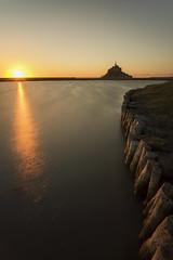 Mont Saint Michel (paskal35) Tags: france saint de vacances soleil nikon coucher bretagne breizh normandie michel normandy mont f4 1635mm d810