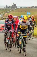 108-Edit (Bev Cappleman) Tags: abbey bicycle race yorkshire whitby northeast northyorkshire letour cyclerace tourdeyorkshire