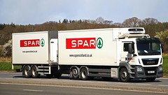 MAN - SPAR Supermarket (scotrailm 63A) Tags: trucks spar lorries suprmarkets