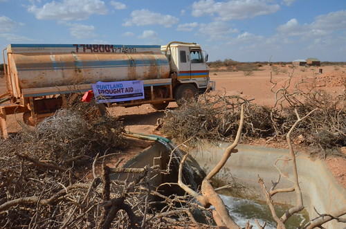 Refilling reservoirs in drought-hit Nugaal, Puntland