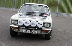Avenger in action (Lazenby43) Tags: 1974 rally hillman donington rootes okv571m