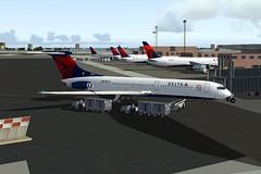 Delta VC10-400 FS9 (jonf45 - 2 million views-Thank you) Tags: 2004 flight dal delta re airlines bae simulator sim livery fs9 repaint vc10400