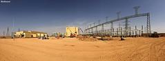 Wa'ad AlShamal Substation (Barbarawi90) Tags: north company saudi arabia area electricity substation       waad alshamal