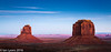 Twilight, Monument Valley Navajo Tribal Park (IanLyons) Tags: travel sunset arizona usa sun twilight awesome scenic northamerica afterglow monumentvalleynavajotribalpark themittens merrickbutte eastmitten oljatomonumentvalley
