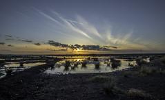 mosslands sunset 2 (joe_bolton) Tags: sunset sky nature landscape nikon wideangle 20mm salford primelens mosslands landscapebeauty nikond750