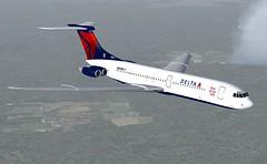 Delta VC10-400 FS9-2 (jonf45 - 2 million views-Thank you) Tags: 2004 flight dal delta re airlines bae simulator sim livery fs9 repaint vc10400