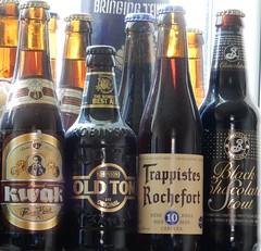 Beer! (deltrems) Tags: beer brooklyn real bottles drink ale brewery belgian kwak bottled rochefort oldtom trappistes