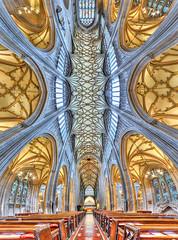 St. Mary Redcliffe church, Bristol (Londonietis) Tags: england panorama church canon bristol ceiling stmaryredcliffe redcliffe stmary hdr photomatix vertorama londonietis kestasbalciunas