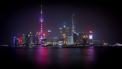 Shanghai skyline (jsvamm) Tags: city tower skyline night cityscape shanghai pearl pudong bund 500px ifttt