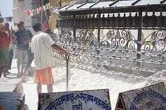 Renovation Work 3 (Jgunns91) Tags: travel nepal travelling religious temple nikon asia peace buddhism wanderlust explore discover natgeo swayumbhunath