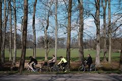 DSCF2947 (FCarboni) Tags: road trip travel trees sky cloud holland tree travelling netherlands bike fuji nederland sunny riding fujifilm hilversum fujinon35