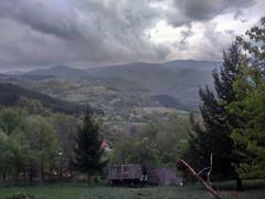 Landscape (nenad_proti) Tags: colors clouds dark landscape photography photo greens vilage phonephotography
